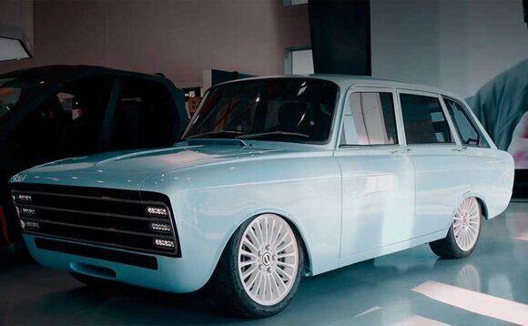 электромобиль от концерна Калашникова