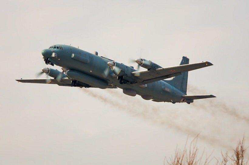 ИЛ-20 РЭБ сбит в Сирии