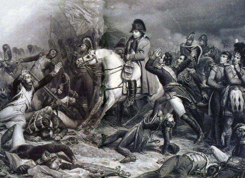 поражение Наполеона при Ватерлоо