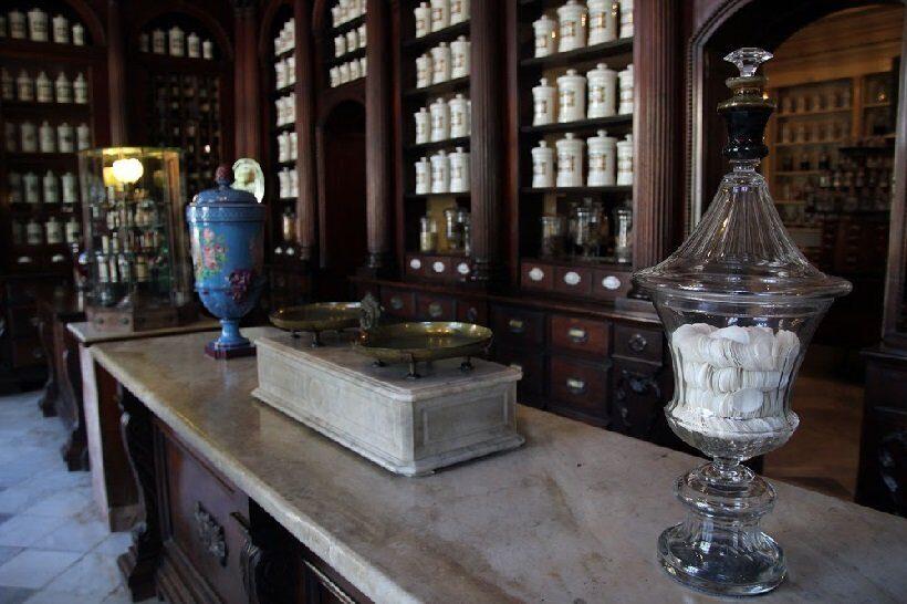 французская аптека XIX века находится в кубинском городе Матансас