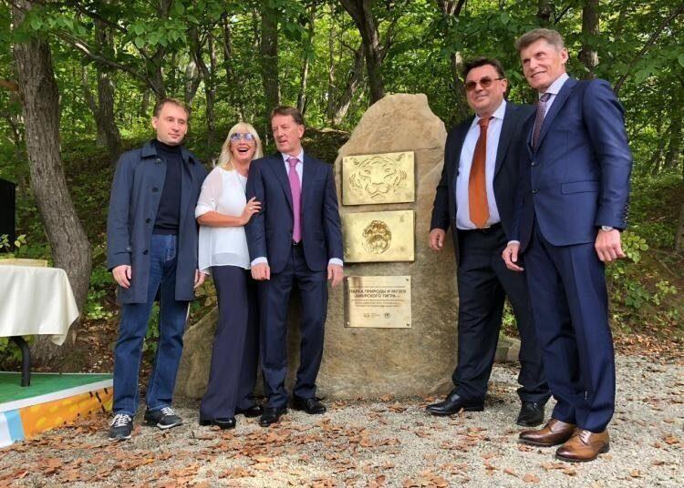 В Приморье заложили первый камень будущего заповедного парка тигров