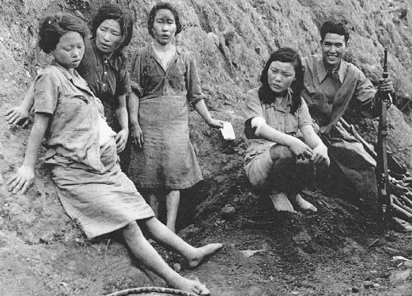 Япония женщины для утешения