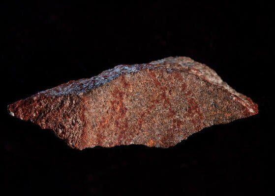 Древнейший из сделанных человеком разумным рисунок найден на камне из ЮАР
