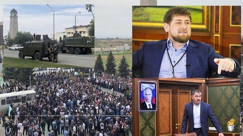 Кадыров встретился с участниками митинга в Ингушетии и извинился