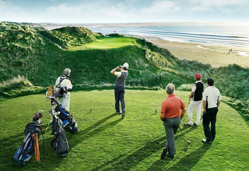 Ирландия поставила цель стать мировым лидером гольф- туризма