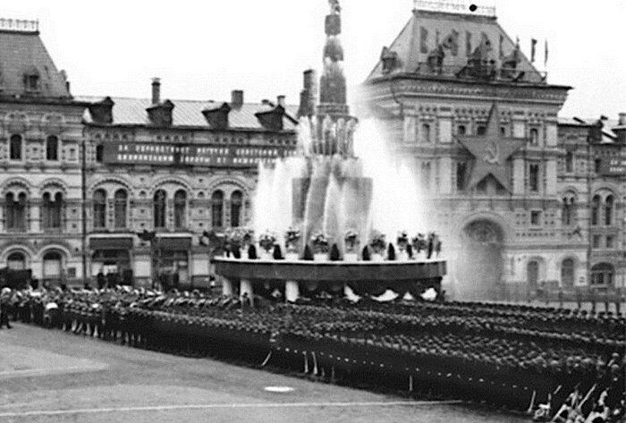 фонтан Победителей на Красной площади