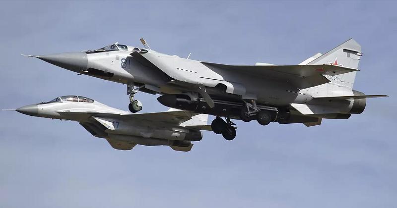 Пентагон заметил таинственную ракету на МиГ-31