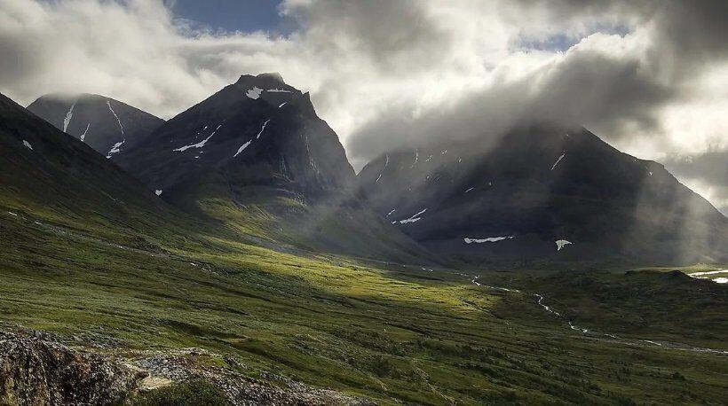 гора Кебнекайсе Швеция