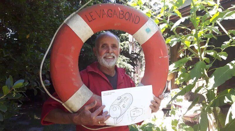 Французский пенсионер решил переплыть Атлантику в бочке