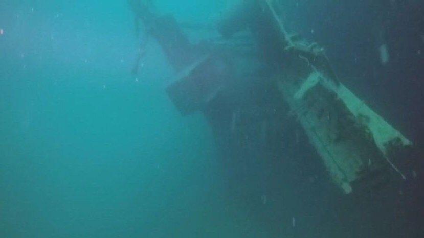 американский пароход Мопанг затонул на 35-метровой глубине в Созопольском заливе в 1921 году