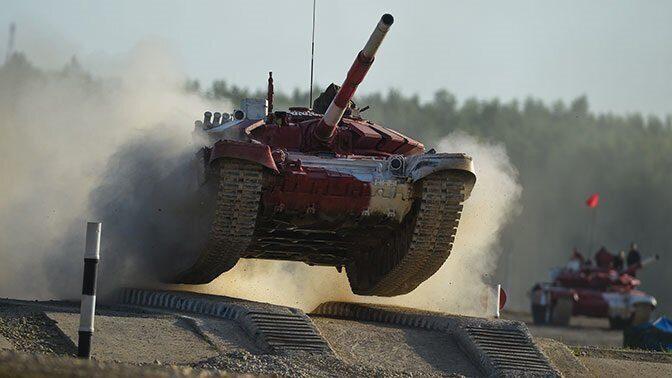Танковый биатлон впервые состоится в рамках российско- монгольских учений