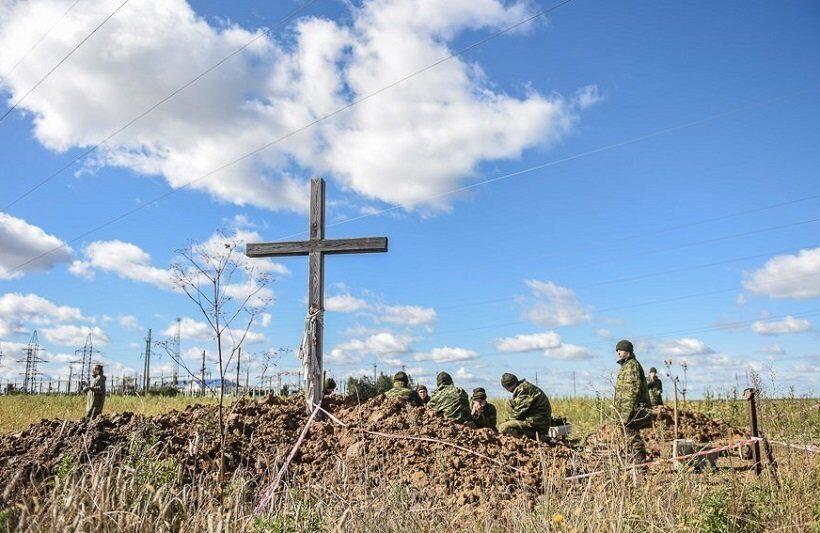 В Гомеле идут раскопки захоронения расстрелянных фашистами красноармейцев и узников гетто