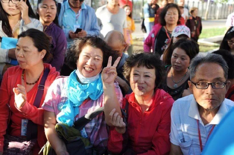 наши туристы в китае фото любое строительство