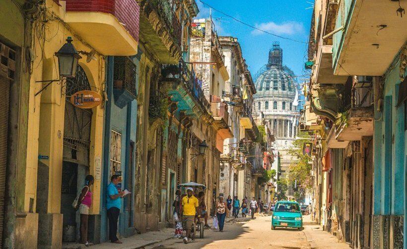 Куба улицы Гаваны