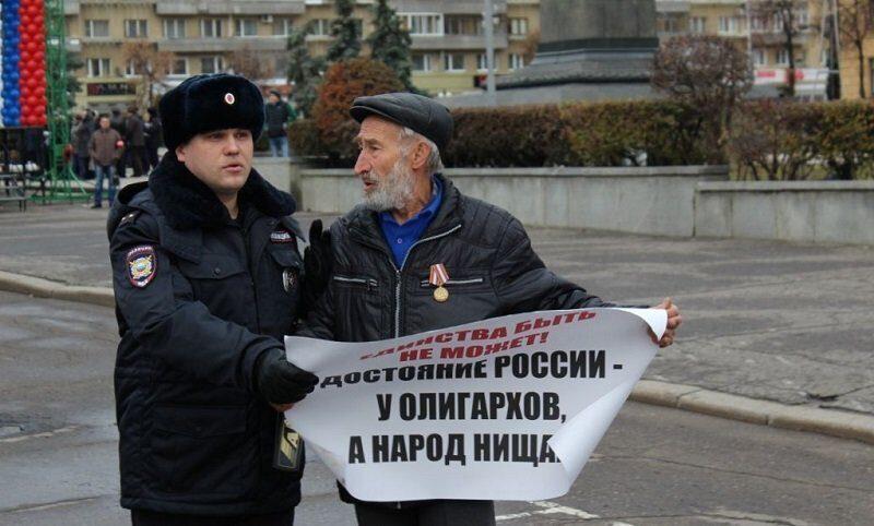 Выгнанных с Запада российских олигархов Путин скормит народу, требующему справедливости
