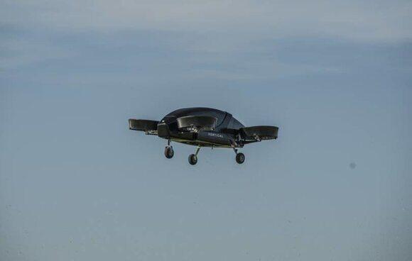 В Великобритании впервые создали электрическое летающее такси