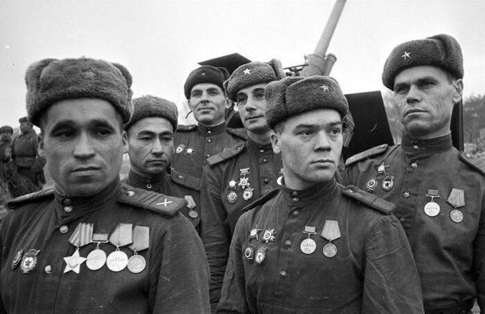 Более 40 тысяч медалей получили солдаты и командиры РККА