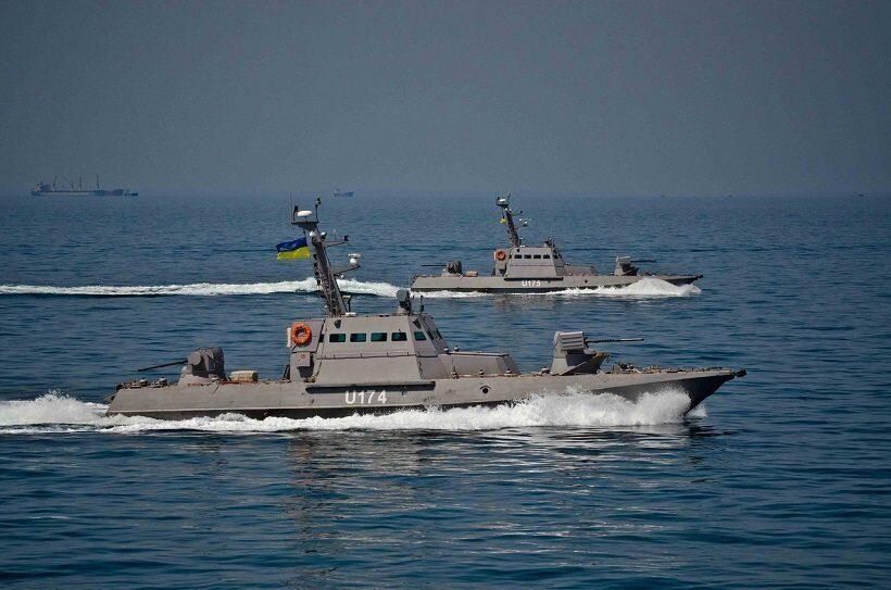 Военно-морские силы Украины завершили учения в Азовском море