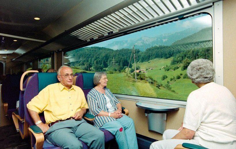 пенсионеры в швейцарии