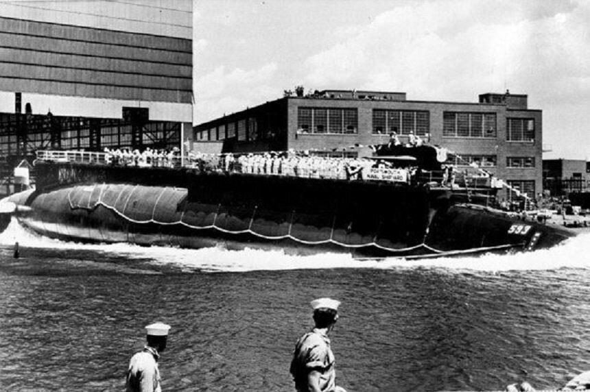 Американская головная атомная подлодка проекта Thresher