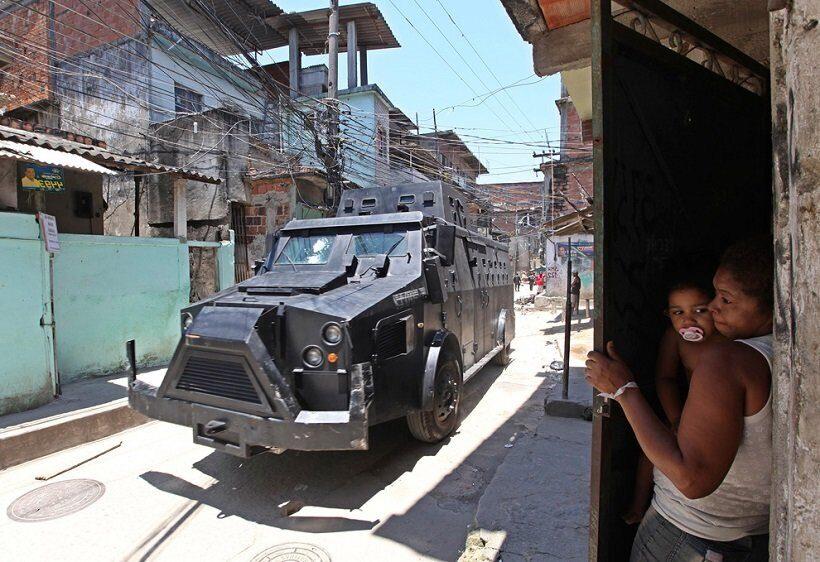 В Рио-де-Жанейро растет спрос на бронированные автомобили