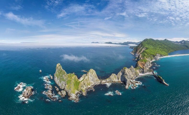 Целый остров исчез в районе Курил