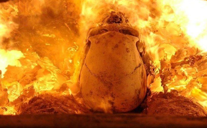 кремация в Китае