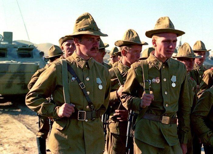 Афганская война 1979–1989 годов