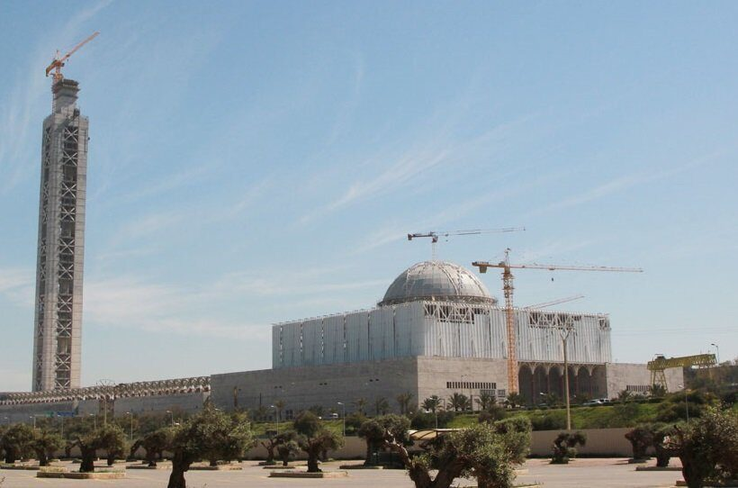самая большая мечеть в мире Алжир
